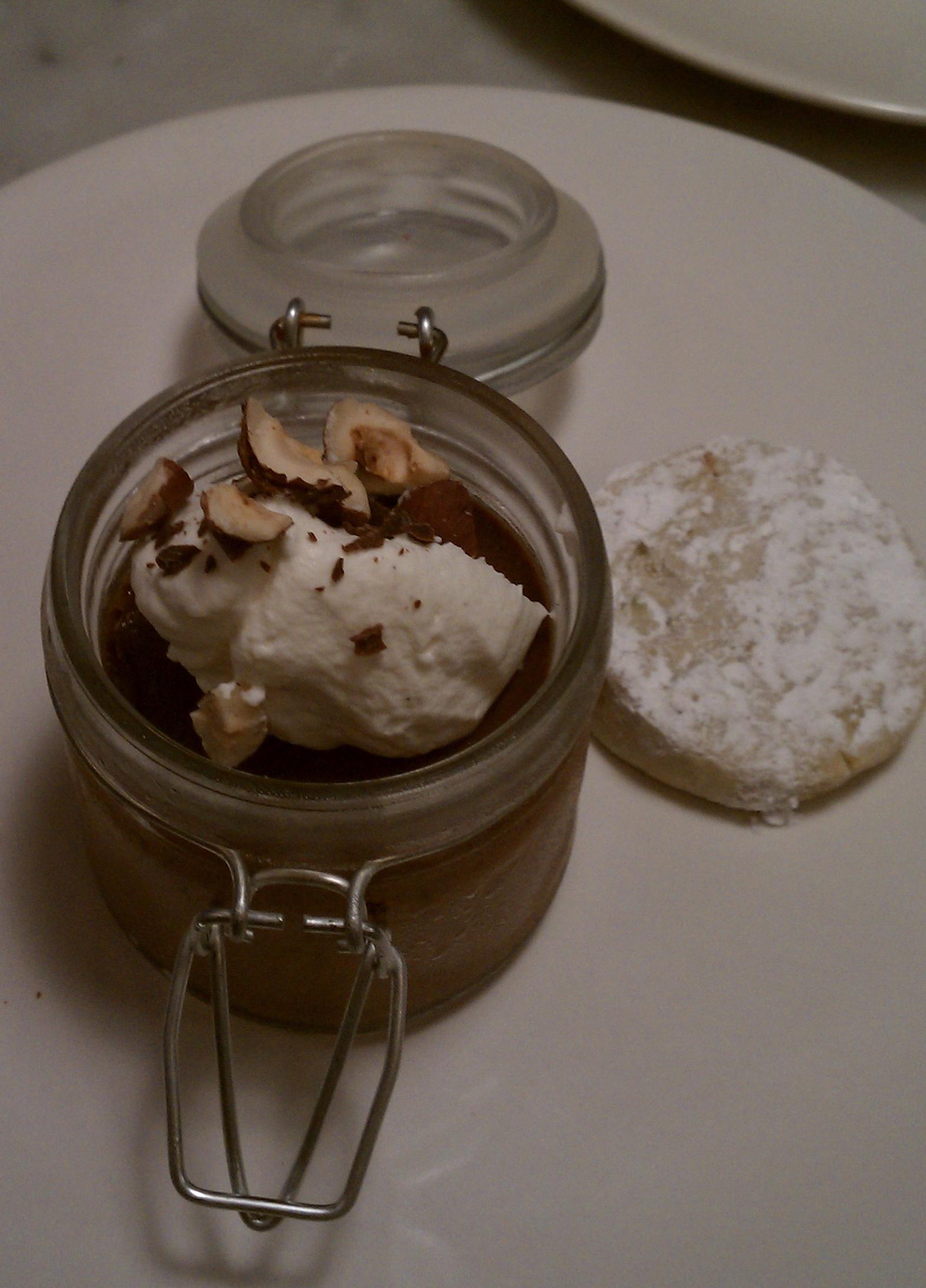 Chocolate, Hazelnut, And Fleur De Sel Pot De Creme Recipes ...